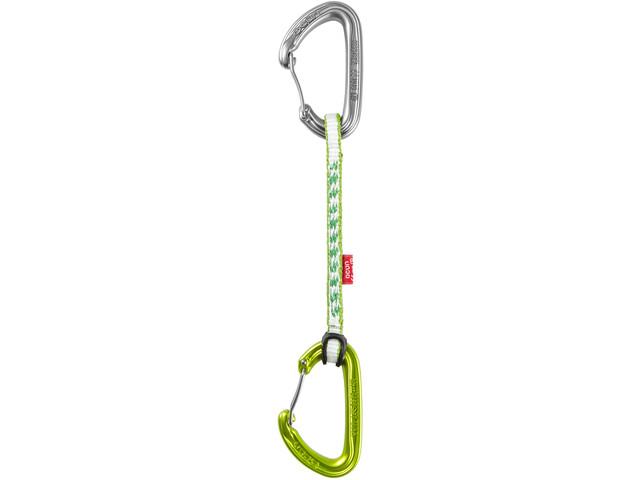Ocun Kestrel QD DYN Quickdraw 8 mm 15cm 5-delige Set, groen